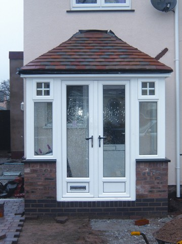 Walsall upvc doors double glazed windows for Double glazed porch doors